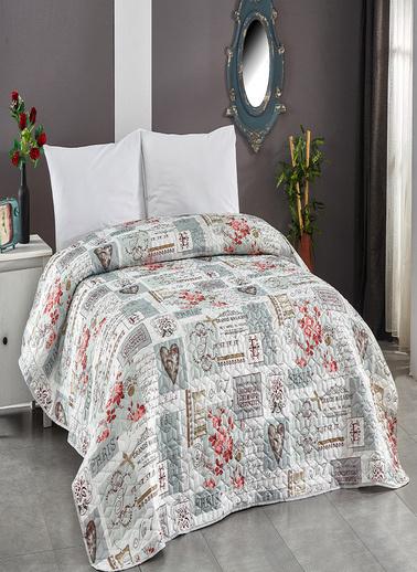 Komfort Home Tek Kişilik Çok Amaçlı Örtü - Pike 160x220 CM / V4 Renkli